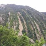 Gebogene Berge