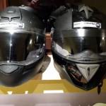 Helme im Hotel